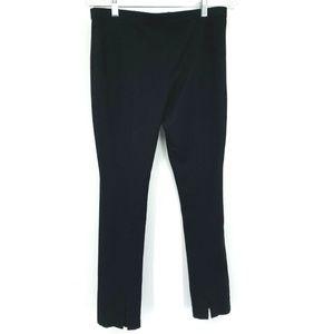 WHBM Slim Legging Ankle Slit Stretch Elastic Waist